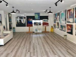 Be Brave Artspace, Avalon, Sydney, Australia. Art exhibition space.