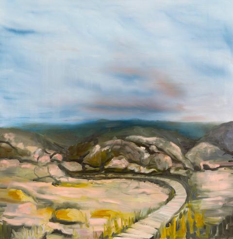 Amanda Fuller painting