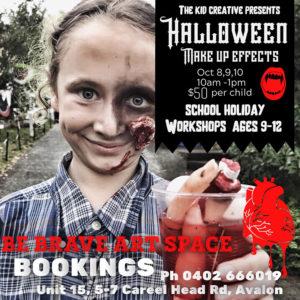 Halloween Makeup Workshop for kids