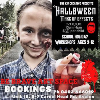 Halloween Makeup Workshop for kids