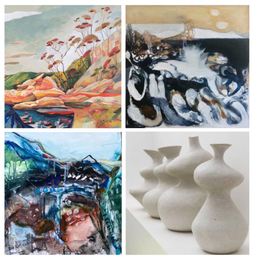 4 Views art exhibition images