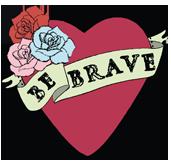 Be Brave Artspace watermark logo
