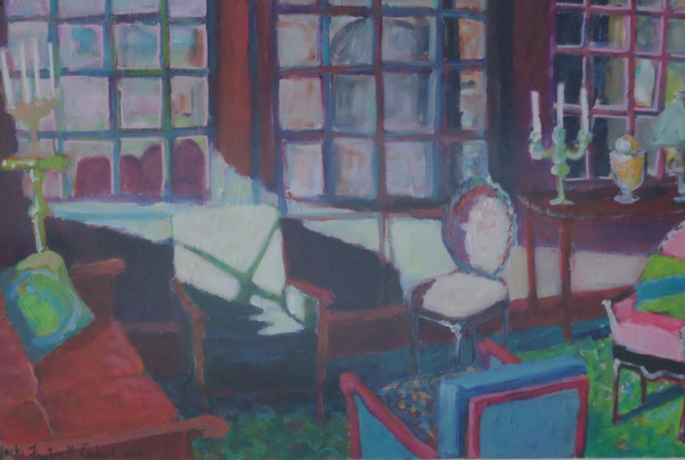 French Interior 2 by Jackie Fewtrell Gobert
