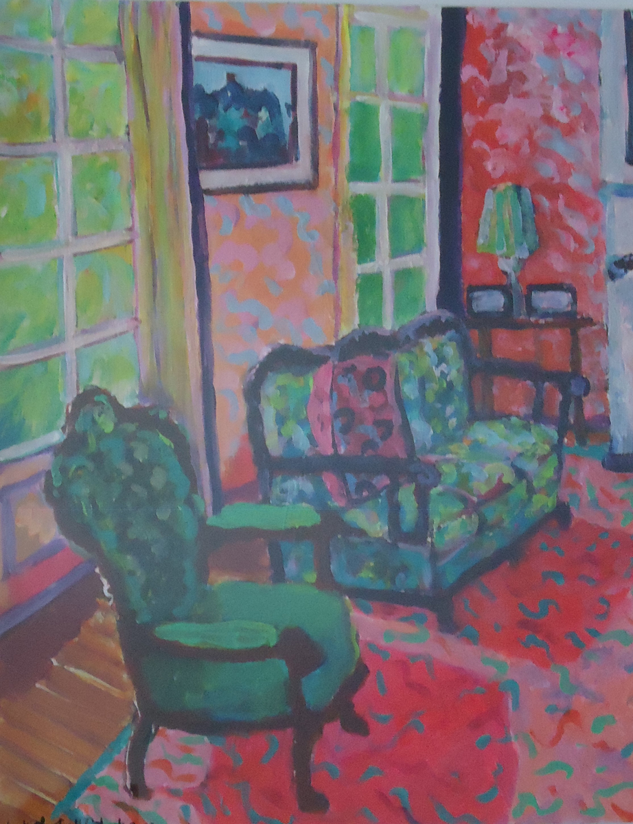 Adelaide Interior by Jackie Fewtrell Gobert