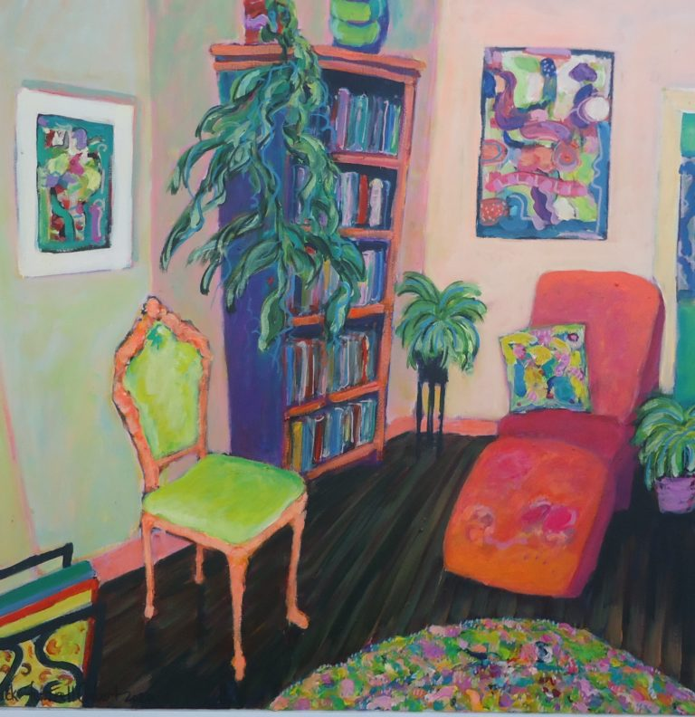 Interior with Lolita Lounge by Jackie Fewtrell Gobert