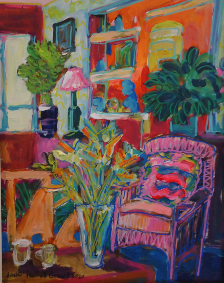 Late Afternoon Interior by Jackie Fewtrell Gobert