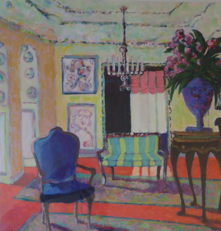 Louis Sitting Room by Jackie Fewtrell Gobert