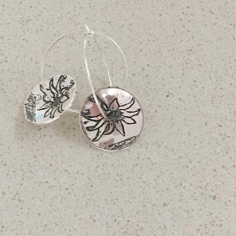 Susan Peacock - Earrings Round