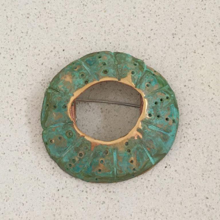 Susan Peacock Open Brooch - Small