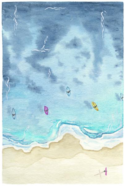 Catherine Atkinson - Bungan Beach