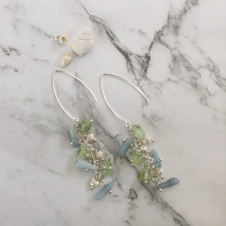 Christine Sadler - Waterfall Earrings