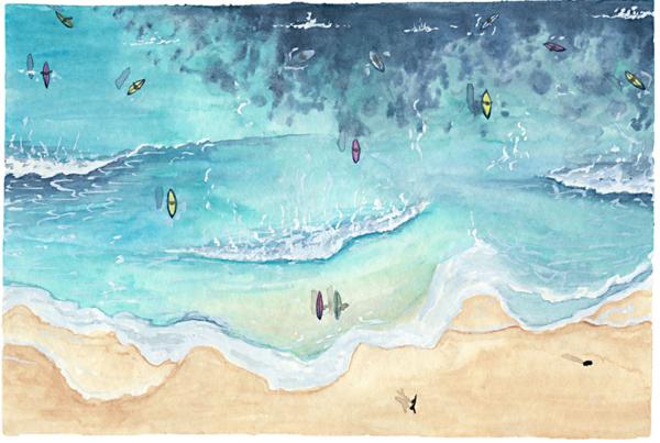 Catherine Atkinson - Freshwater Beach