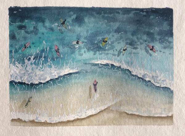 Catherine Atkinson - Warriewood Beach