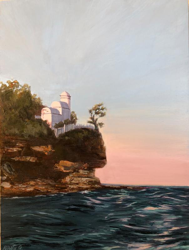 Dusk at the Lighthouse - Kirsty Gautheron