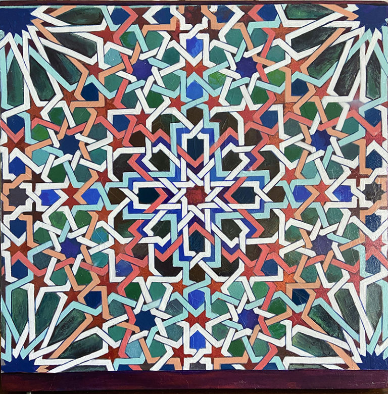 Kathleen Fairweather - Alhambra Granada Spain - Tile detail