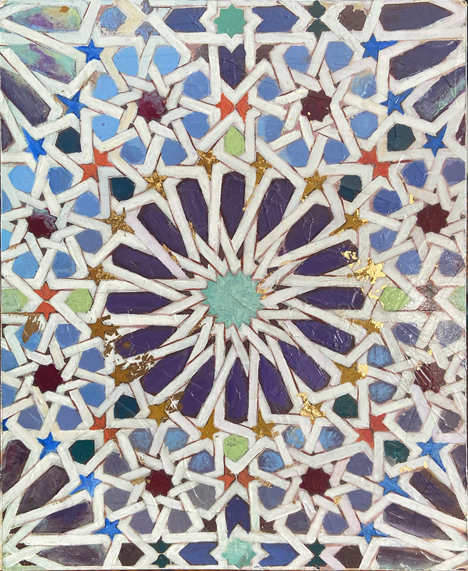Kathleen Fairweather - Saadian Tomb - Tile detail