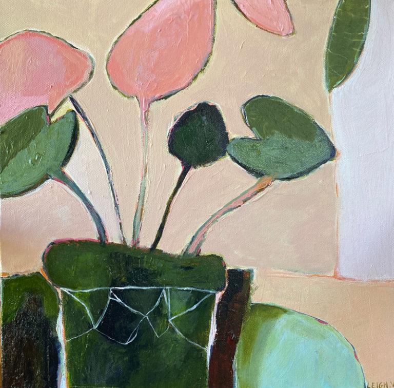 Leigh Vardanega - Pink Leaves