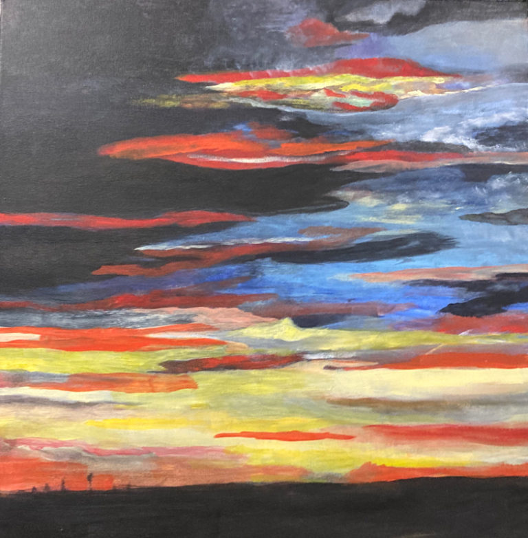 Rosie Nankervis - Sunset at Palm Beach