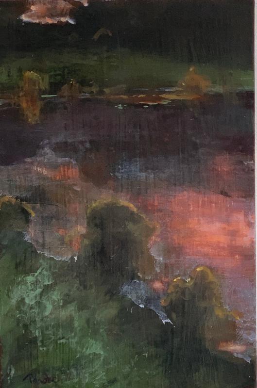 Tony Hooke - Sunset Pond 1