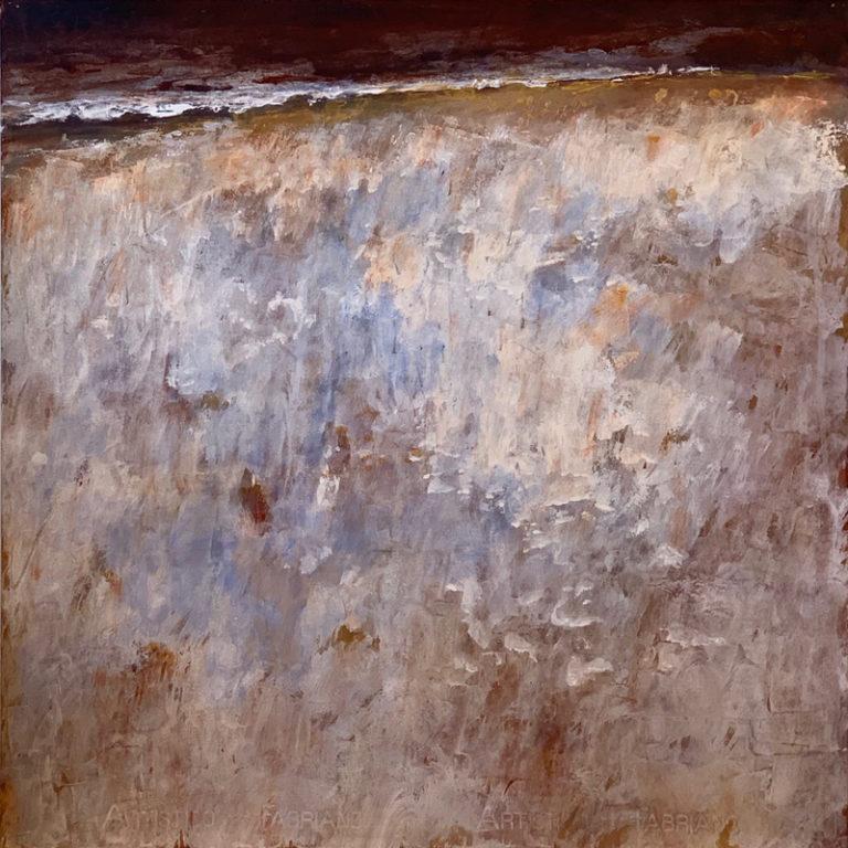 Tony Hooke - Grassy Slope Under Dark Sky