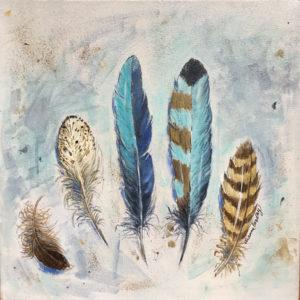 Dianne Bradley - Five Fine Feathers