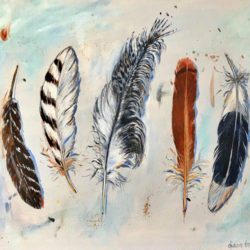 Dianne Bradley - #8 Clutch of Feathers