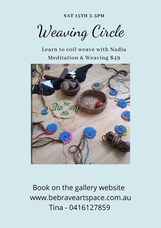 Meditation and Weaving Circle with Nadia Elfrida