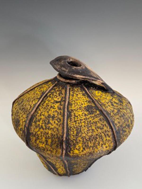 Elizabeth Cashmore - Old Yellow Persian Pot