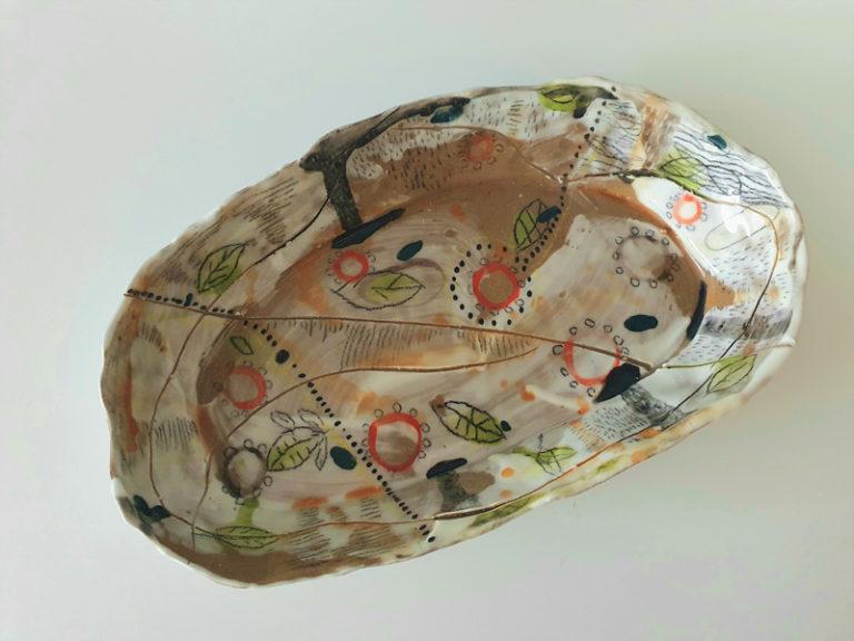 Cathy Allen - Gum Blossom