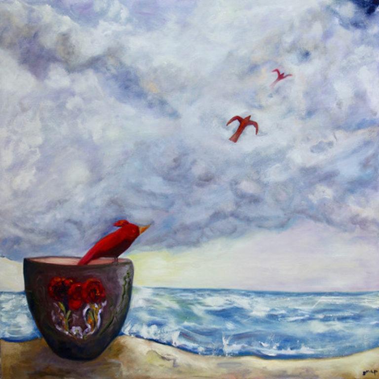 Susannah Paterson - Red Birds Take Flight