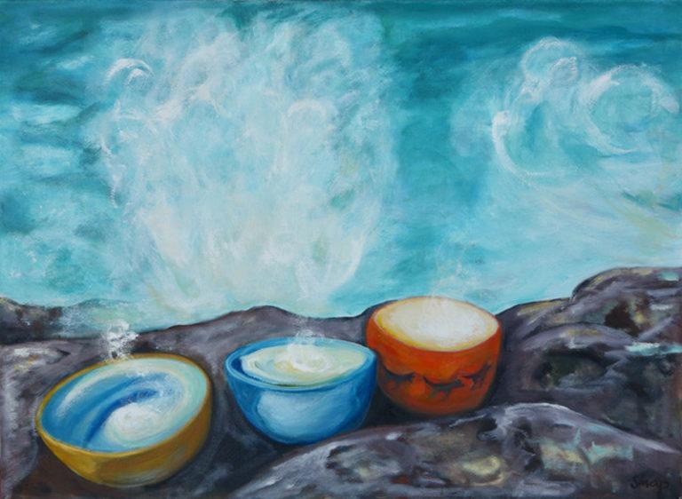 Susannah Paterson - Three Bowls of Light