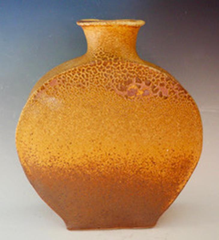Roslyn Lowe - Yellow Glaze Vessel