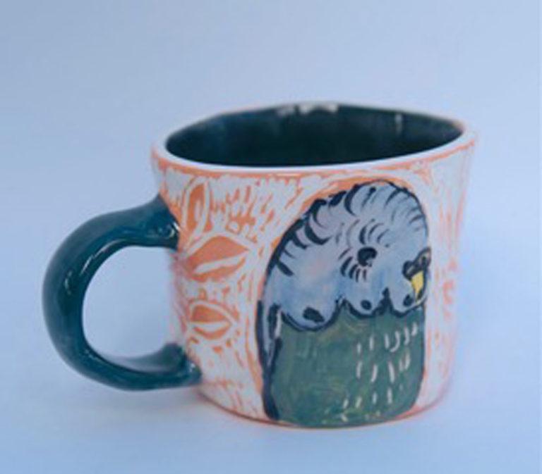 Kara Pryor - Budgie Mug #1