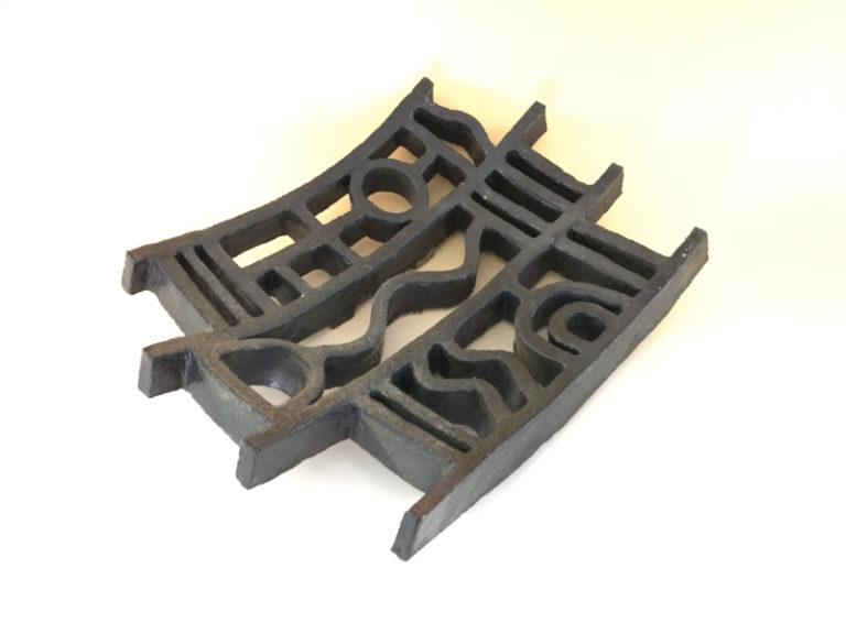 Gemma Gale - Grid Platter #2 - Curved